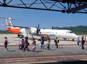 Leaving for Manila